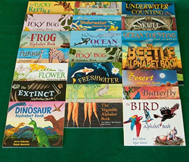 Science And Nature Alphabet And Counting Books Series Collection (20 Titles)