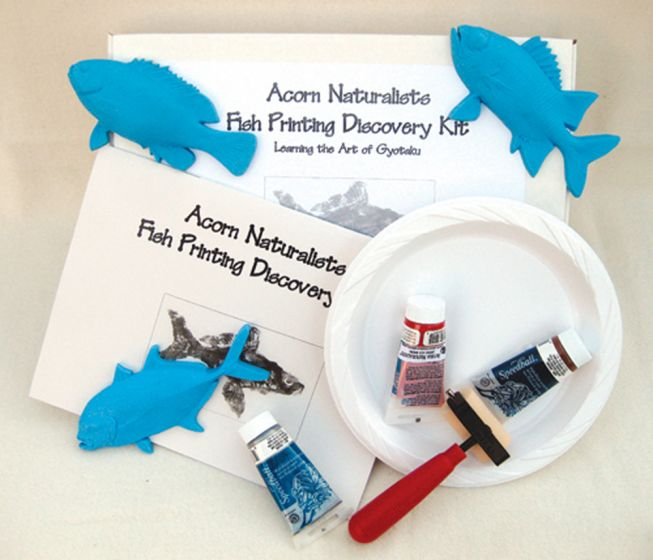 Saltwater Fish Printing Discovery Kit
