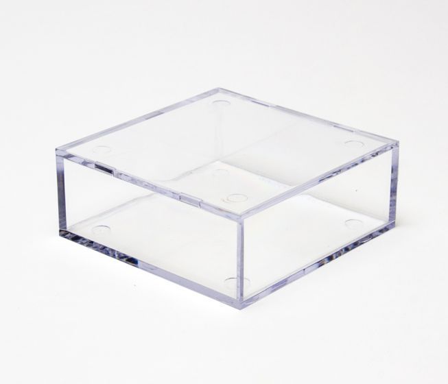 "Clear Display Case ""B"" (Small Flat Square)"
