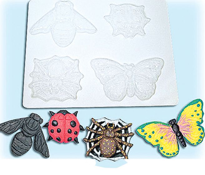 Insects And Spiders Plastic Molds