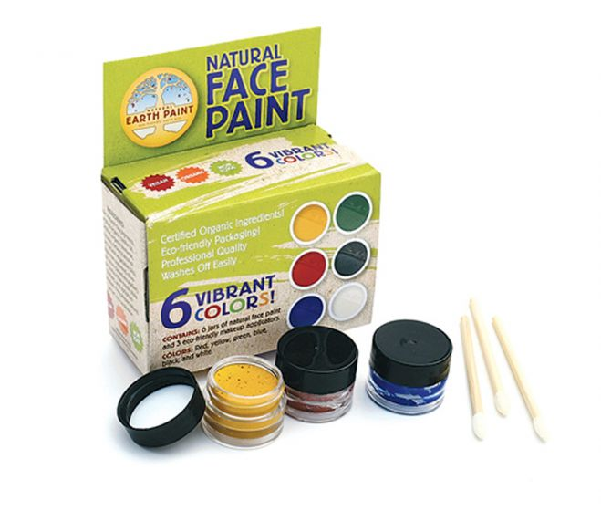 Earth Clay Face Painting Kit.