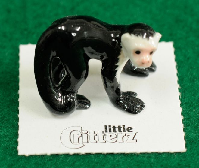 Capuchin Monkey Figurine (Little Critterz™)