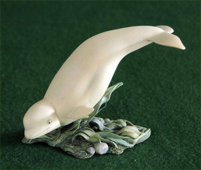 Beluga Whale Sculpture