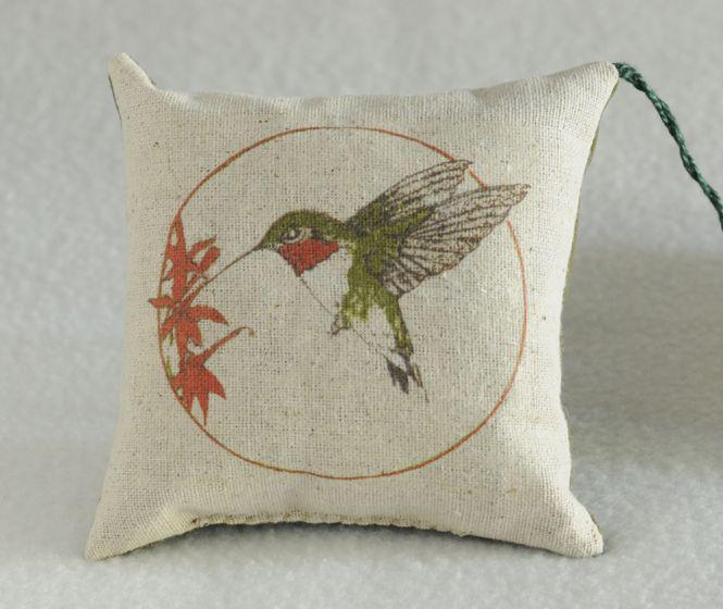 Hummingbird Balsam Pillow (Assorted)