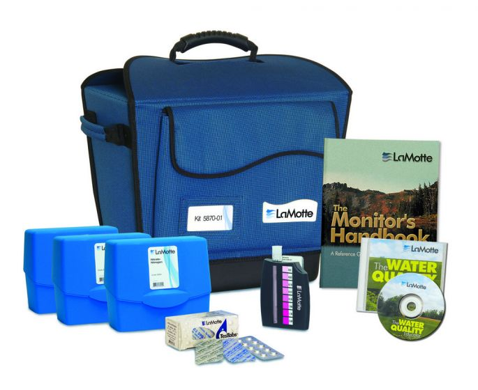 Complete Water Quality Monitoring Kit Plus Water Quality Educator Cd-Rom