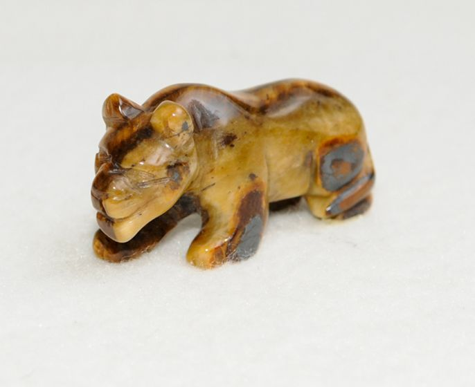 Carved Rock Animal Figurine (Small)