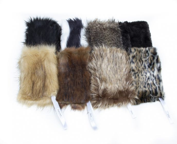 "Kind Fur® Swatch ""Bestsellers"" Collection (Discounted Set of 8 Faux Fur Swatches)"