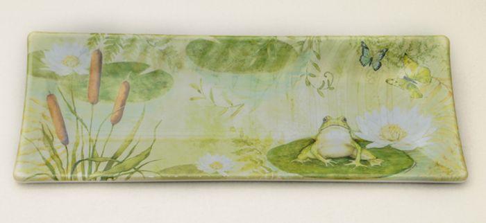 Pond Serenity Rectangular Platter.