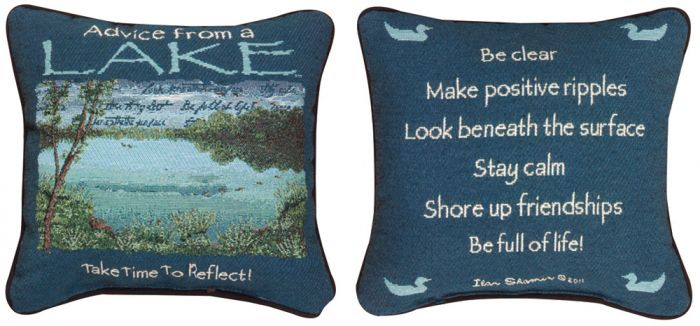 Advice From A Lake™ Pillow