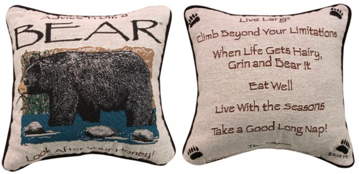 Advice From A Bear™ Pillow
