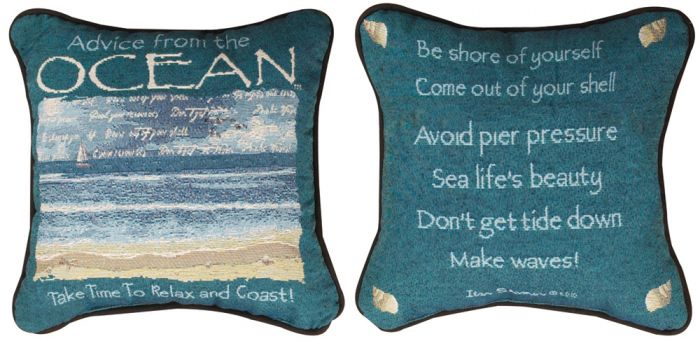 Advice From The Ocean™ Pillow