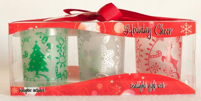 Holiday Cheer Tealight Gift Set