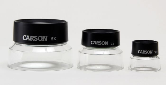 Fixed Focus Loupe Magnifier Classroom Set (5 Each of 3 Sizes