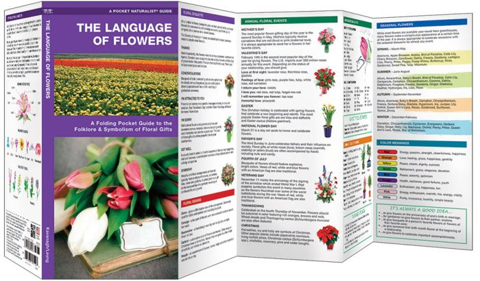 Language Of Flowers (Pocket Naturalist® Guide).