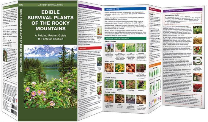 Edible Plants Of The Rocky Mountains (Pocket Naturalist® Guide).