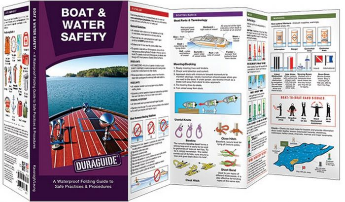Boat & Water Safety: A Waterproof Pocket Guide to Safe Practices & Procedures (Duraguide®)