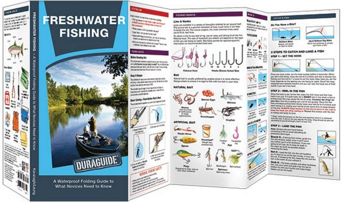 Freshwater Fishing: A Folding Pocket Guide to How and Where to Fish (Duraguide®)