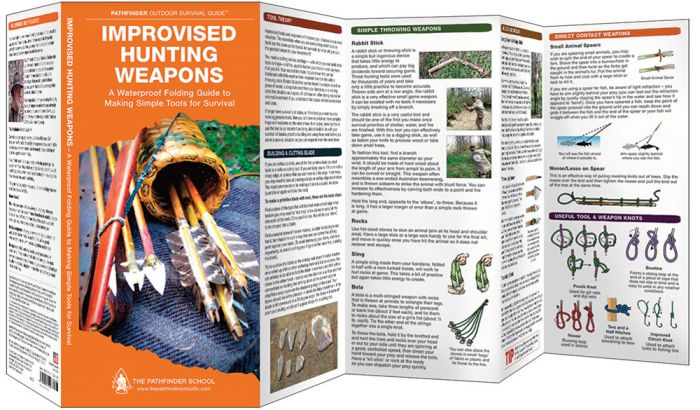 Improvised Hunting Weapons (Pathfinder Outdoor Survival Guide™)