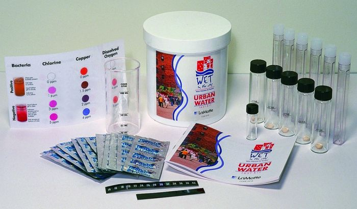 Urban Water Quality Test Kit