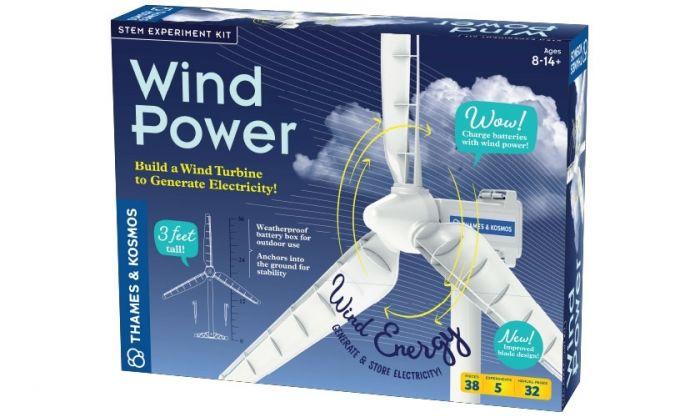 Wind Power Renewable Energy Science Kit 4.0