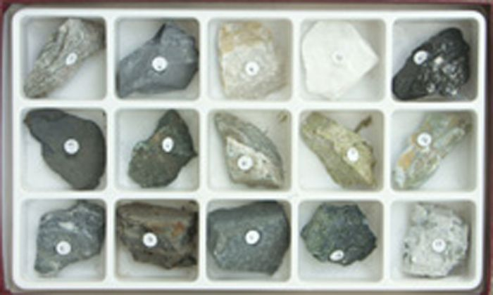 Rock Collections Sorted By Formation - Metamorphic Collection