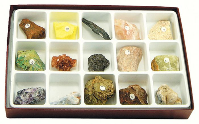 Colorful Minerals Collection
