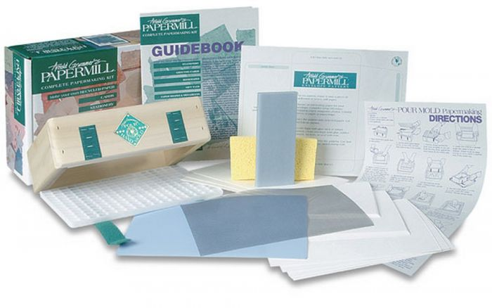 Papermill Stationery & Envelope Papermaking Kit