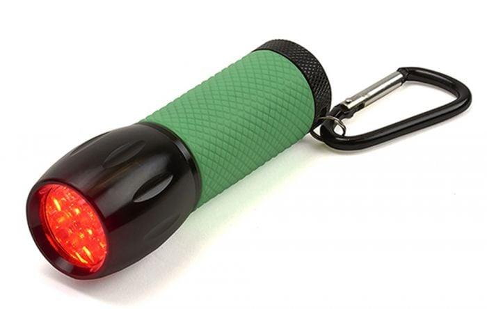 Red LED Flashlight