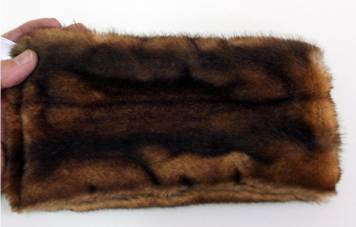Muskrat Kind Fur® (Swatch)