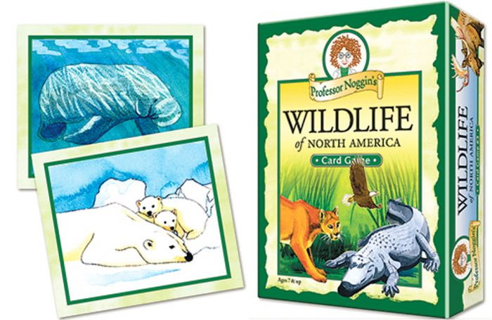 Wildlife Of North America Card Game (Professor Noggin)