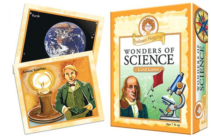 Wonders Of Science Card Game (Professor Noggin)