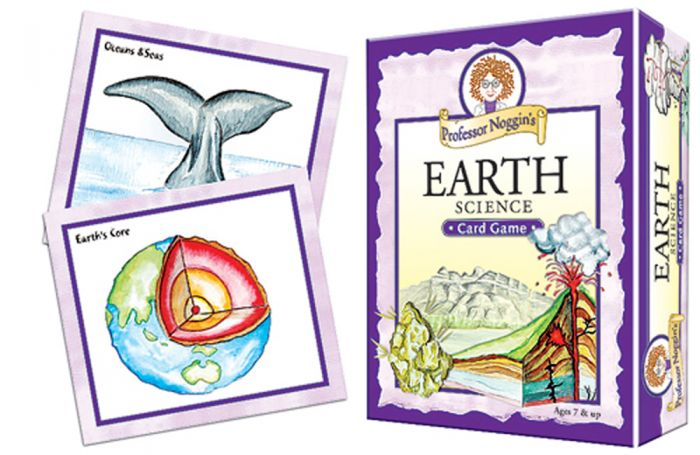 Earth Science Card Game (Professor Noggin)