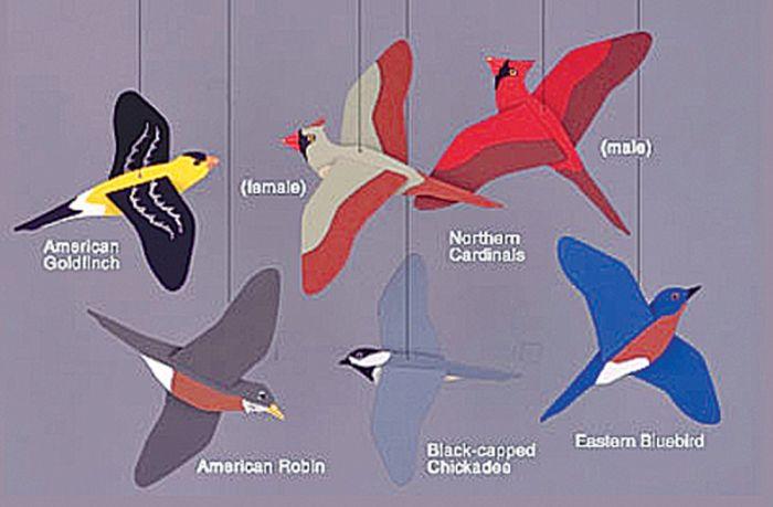 Songbirds Mobile