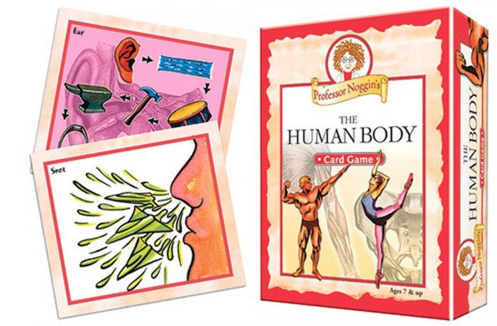 Human Body Card Game (Professor Noggin)