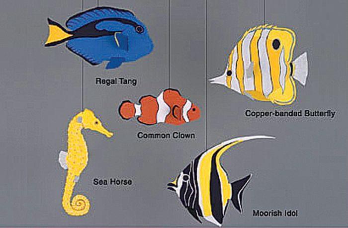 Coral Reef Fish Mobile