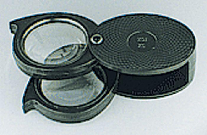 5X/10X Dual Folding Pocket Magnifier (Hard Case)