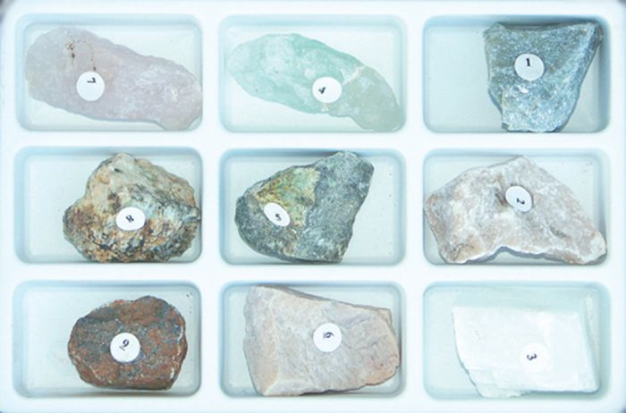 Scale Of Hardness Rock And Mineral Collection (Set #1