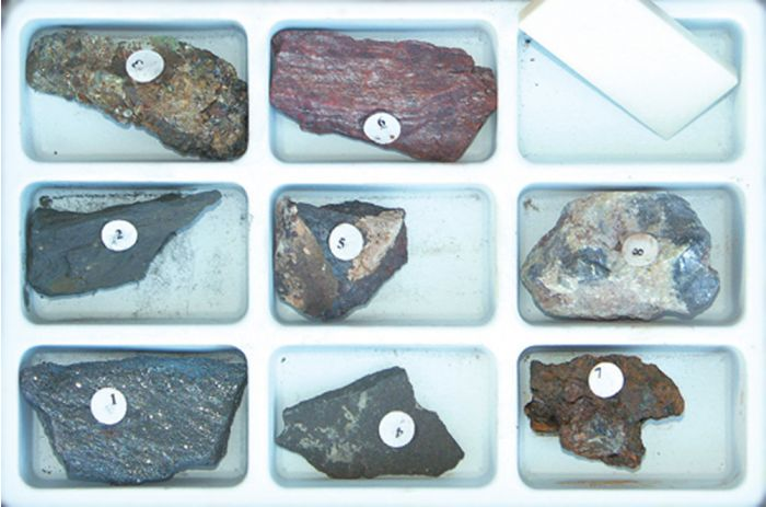 Mineral Identification By Streak Characteristics Collection