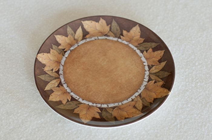 "Autumn Leaf 8"" Plate"