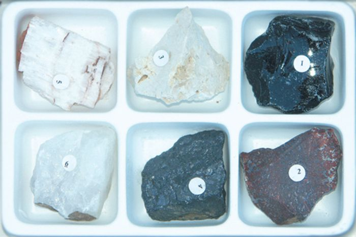 Mineral Identification By Fracture Collection