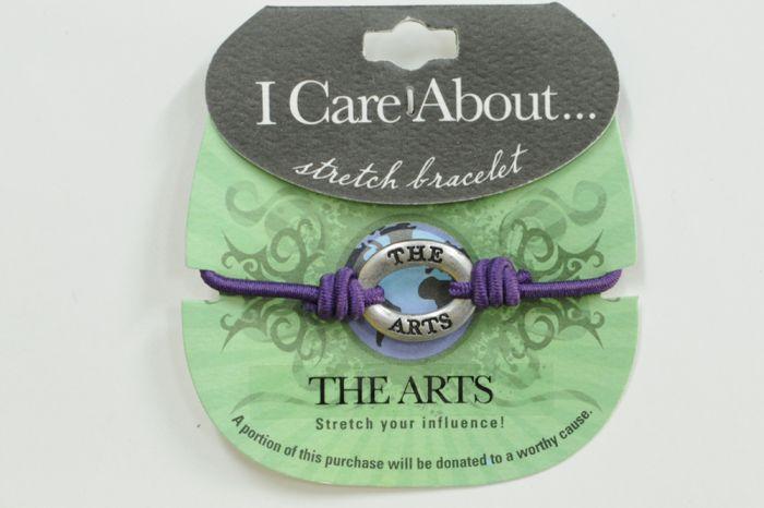 I Care About The Arts Bracelet