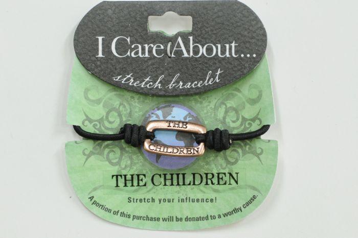 I Care About The Children Bracelet
