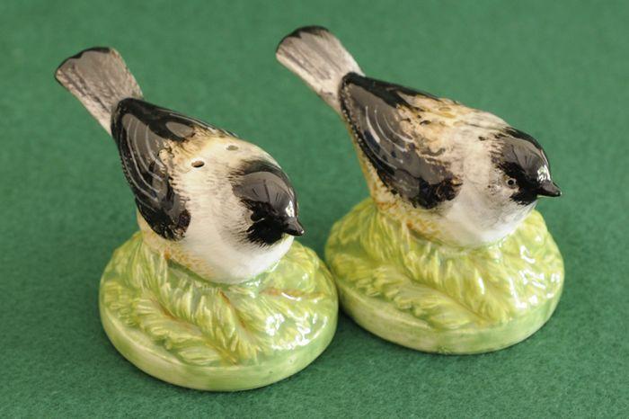 Songbird Salt & Pepper Shaker Set