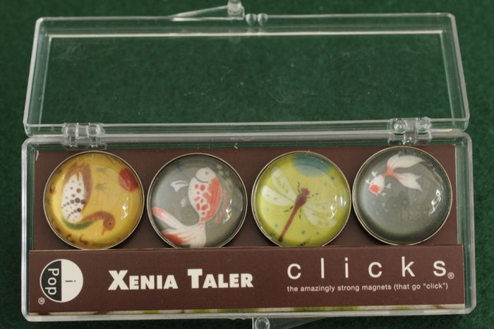 Koi Pond Clicks® Magnet 4-Pack