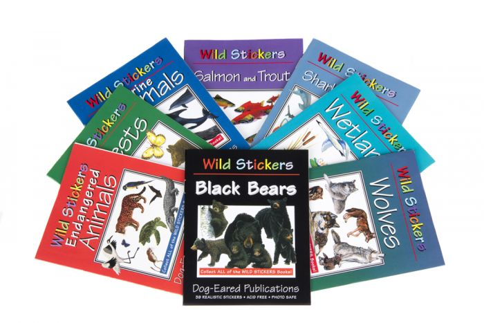 Wild Stickers Booklet Collection (8 Booklets)
