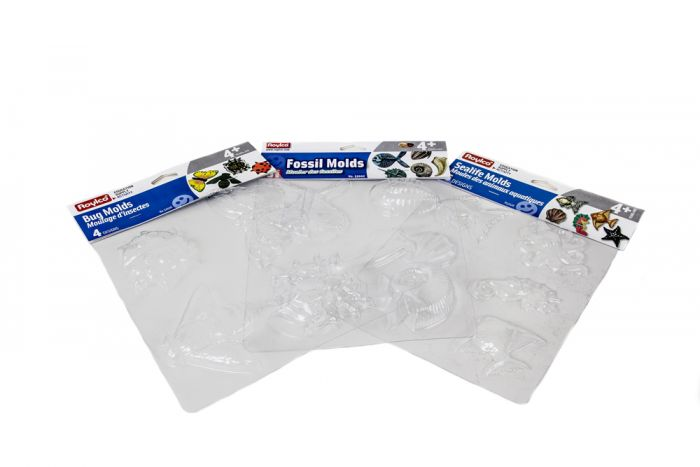 Plastic Mold Tray Collection (3 Trays)