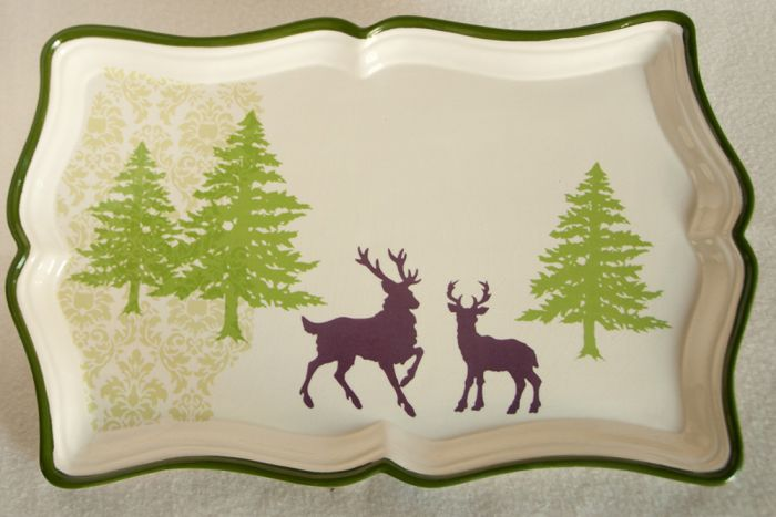 Woodland Silhouette Tray