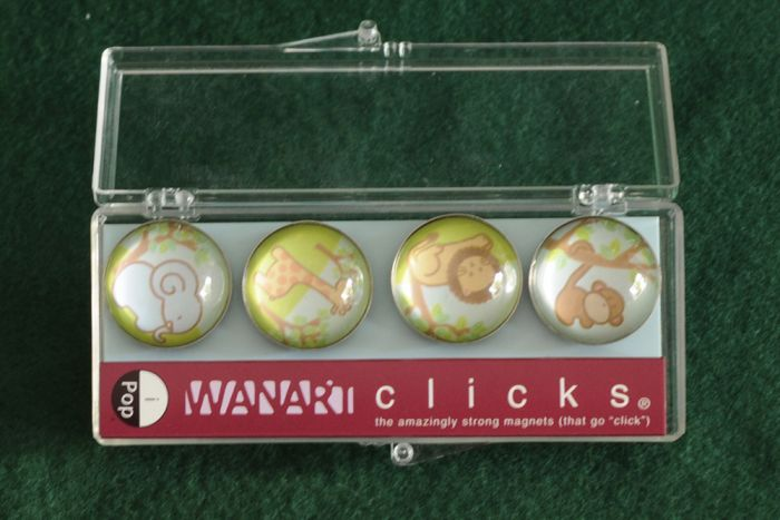 Safari Friends Clicks® Magnet 4-Pack