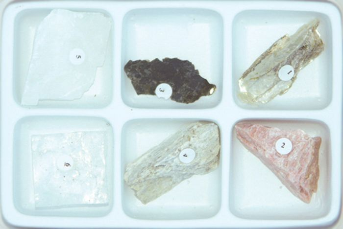 Mineral Identification By Cleavage Characteristics Collection