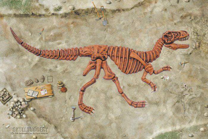 Tyrannosaurus Rex Skeleton Diorama Kit